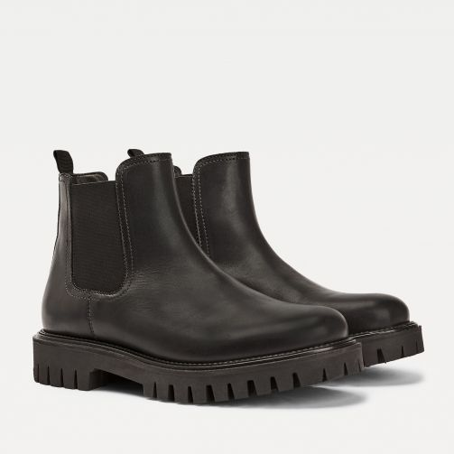 Casual Chunky Sole Chelsea Boots