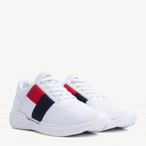 Lightweight Knitted Flag Trainers